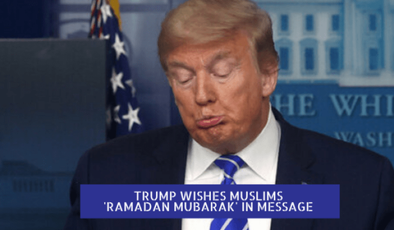 Us president wishes ramadan