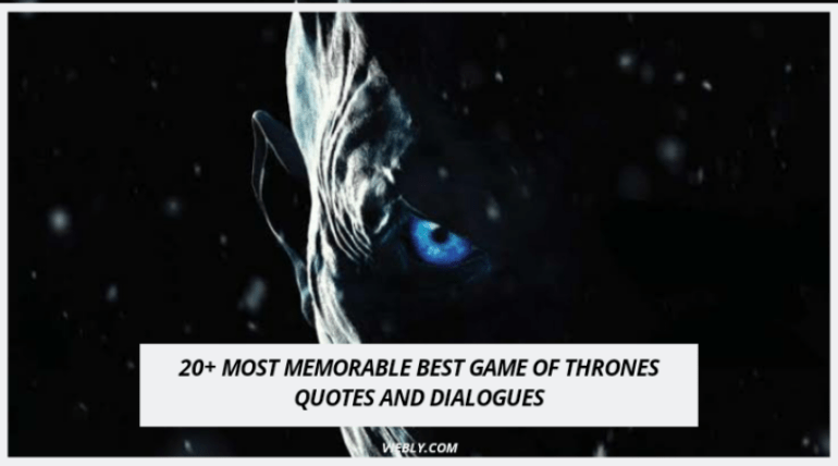 Best Game of Thrones Quotes