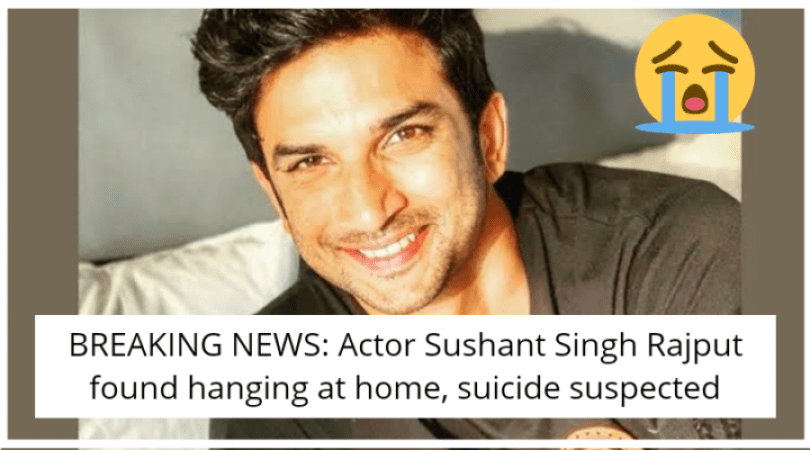 BREAKING NEWS: Actor Sushant Singh Rajput found hanging at home, suicide suspected