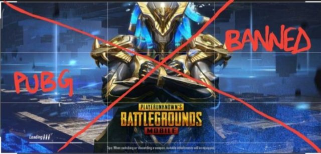PUBG Among the 118 Apps Banned