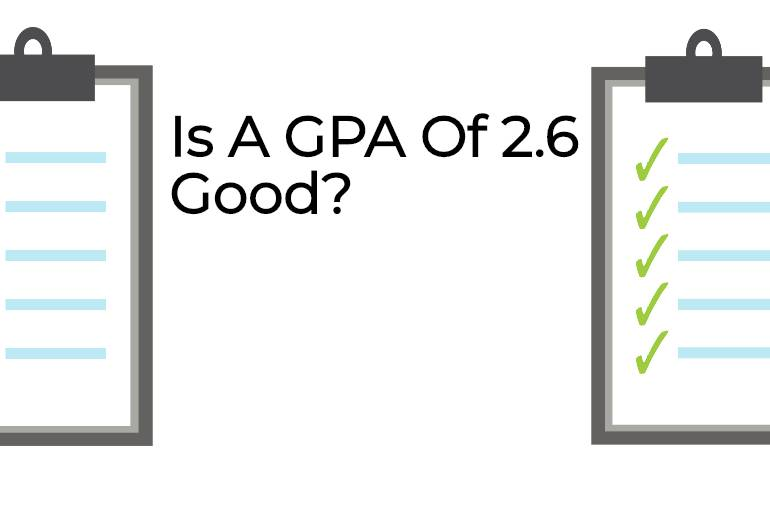 is a gpa of 2.6 good