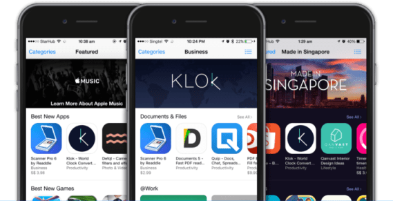 Install Klok from App Store- Which are the Best Tools and Utilities for iOS 2021?