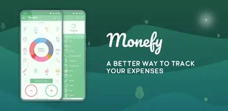 Monefy Logo: budgeting ios app