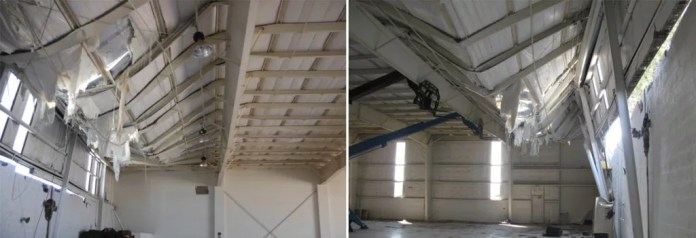 Structural Damage: Roofing issues