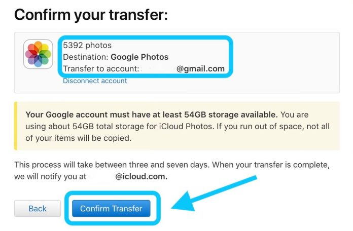confirm Transfer: How to Transfer Pictures from iCloud to Google and Vice Versa in 2021?