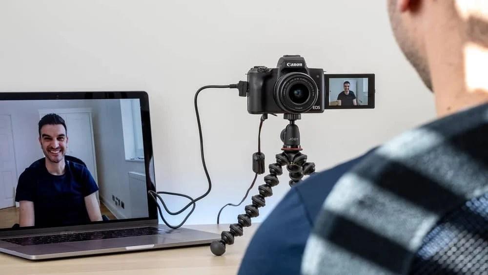 DSLR Camera As A Webcam