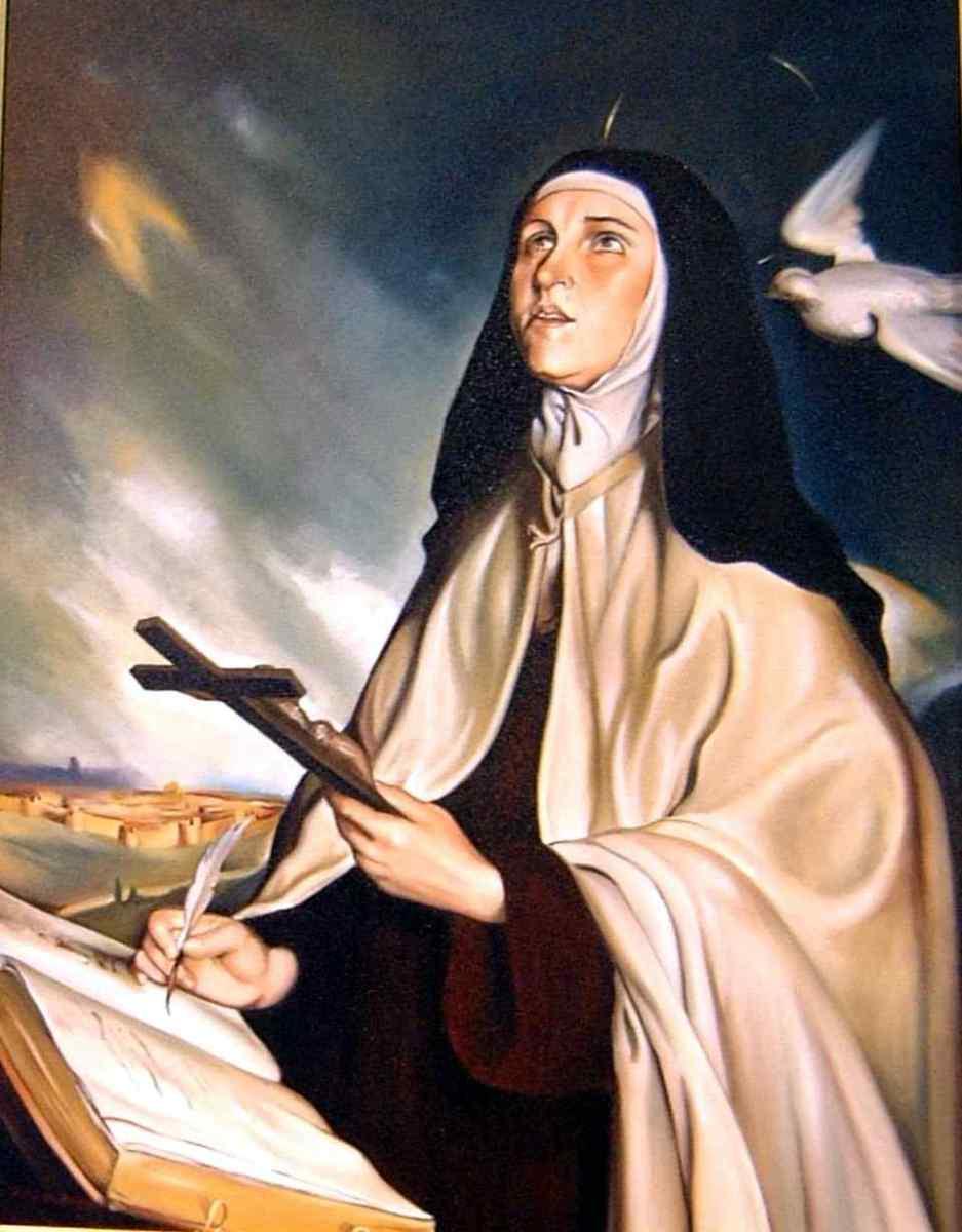Sainte Thérèse d'Avila, vierge et docteur de l'Eglise