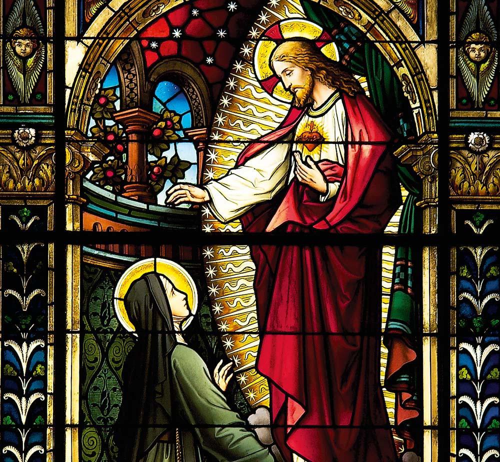 Les 12 promesses du Sacré-Cœur de Jésus à Sainte Marguerite-Marie