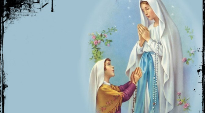 La dernière apparition de Notre Dame de Lourdes et Le Testament de sainte Bernadette