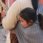 Indígenas en San Miguel de Allende en Mexico