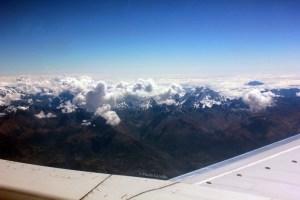 Ahí apenas se veían las montañas de lejos. Pronto empezarían a acercarse...