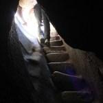 Túnel en la subida al Huayna Picchu