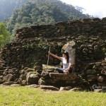 El trono en la Ciudad Perdida de Colombia, como en Game of Thrones