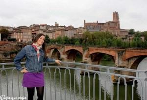 Mi primer paseo en Francia tras haberme mudado a Toulouse: Albi, en el sur