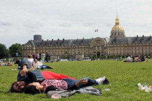 Relajadas en París