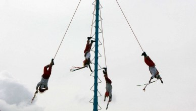 Voladores de Papantla en Mexico