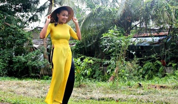 Traje típico vietnamita