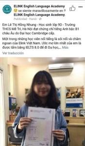 Elink Vietnam ´s Facebook ad