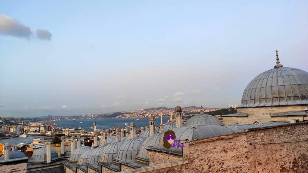 Bosforo desde la mezquita Suleymanie