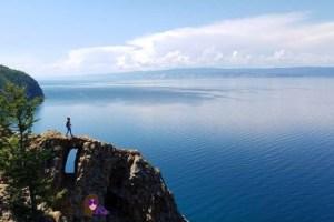Lago Baikal desde la Isla Olkhon