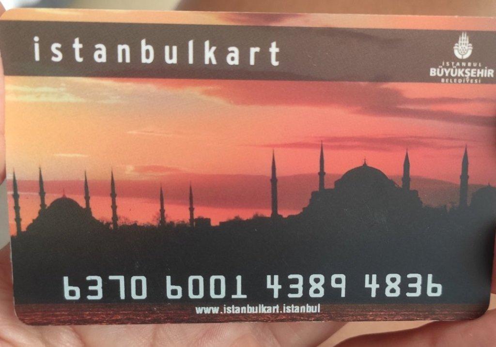 Istanbulkart transporte Estambul