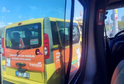 Dolmus bus estambul