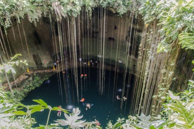 Yucatan Tipp Cenote Ik Kil