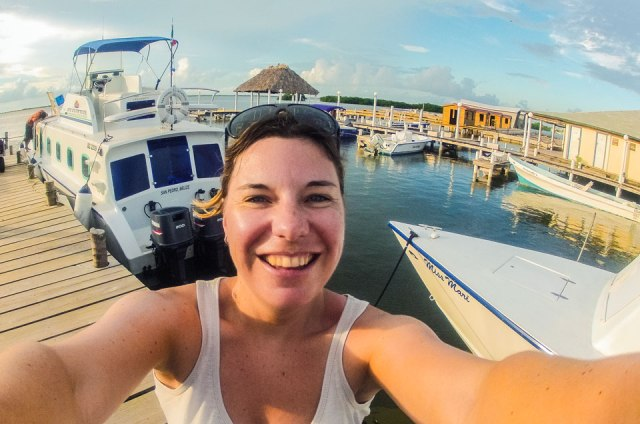San Pedro Pier Selfie