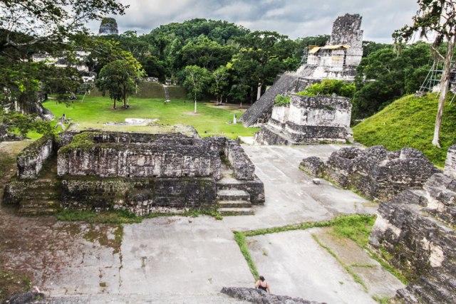 Tempel II in Tikal Guatemala