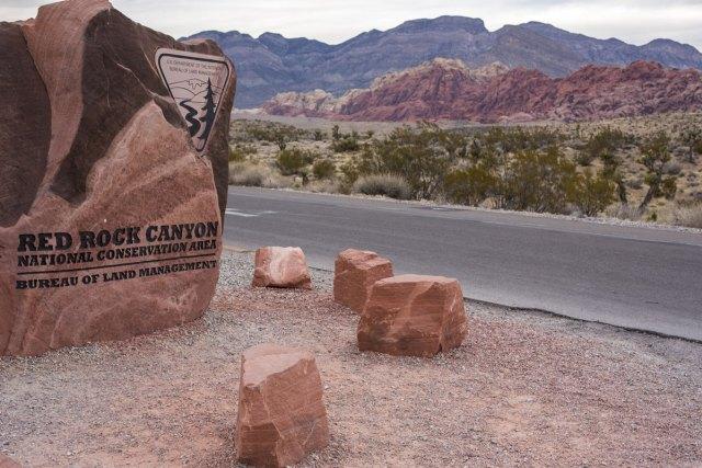 Sehenswürdigkeiten in Las Vegas Nevada Red Rock Canyon Ausflug