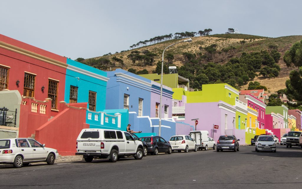 Bo-Kaap in Kaapstad