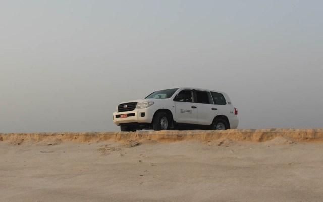 Solltet ihr ohne Allrad vermeiden – Mit dem Auto bis an den Strand.