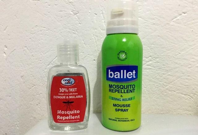 Uganda Reiseapotheke Mosquitospray mit Deet