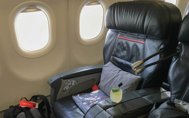 Buisiness Class Sitze bei Turkish Airlines