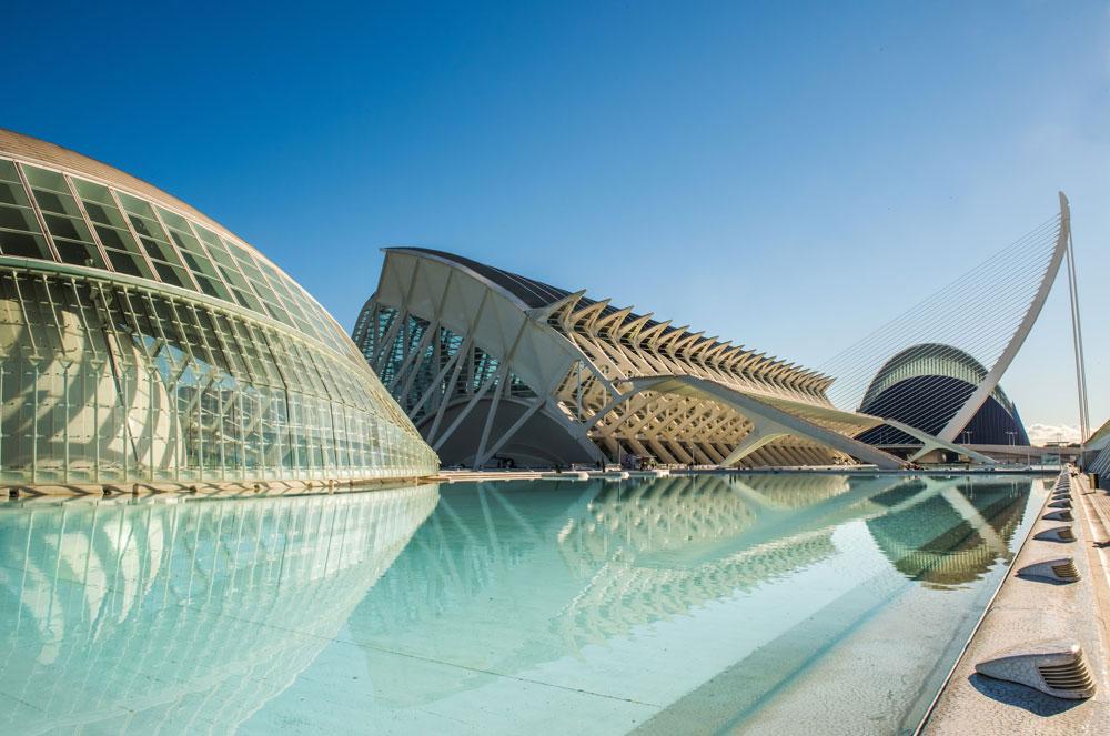 Valencia Stad van Kunsten en Wetenschappen