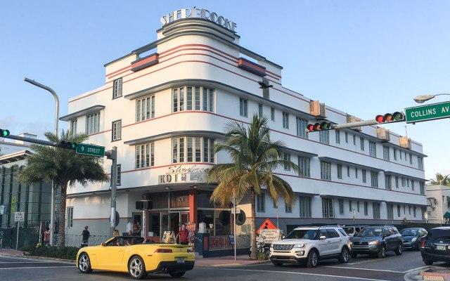 Miami Beach Sehenswürdigkeiten Art Deco Sherbrooke Hotel in Miami Beach