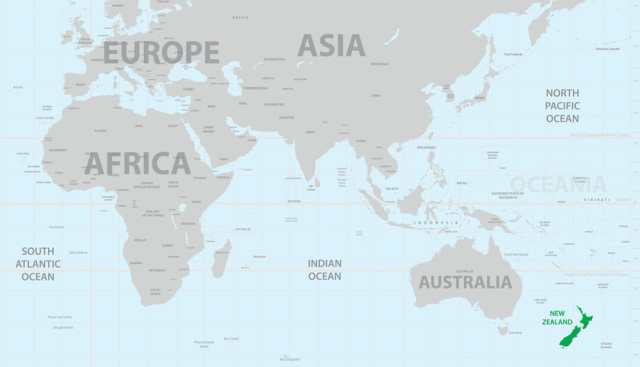 Neuseeland Karte Reisetipps