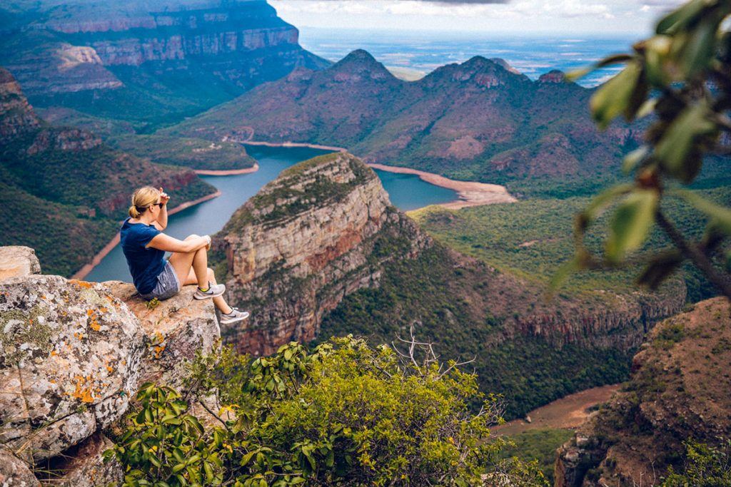 Blyde River Canyon World's End-weergave