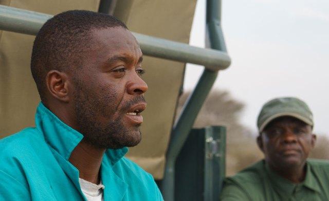 Guide beim Rhino Drive Waterberg Wilderness Namibia