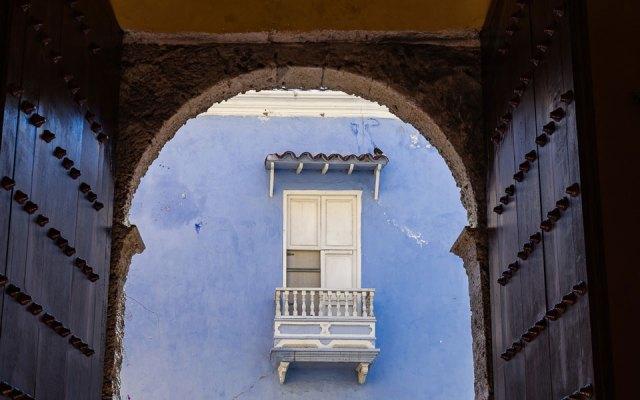 Ausblicke in Cartagena Kolumbien