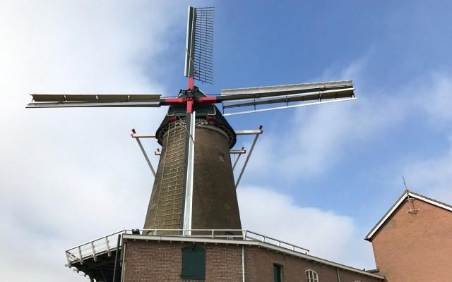 Holland Lekkerradeln Mühle