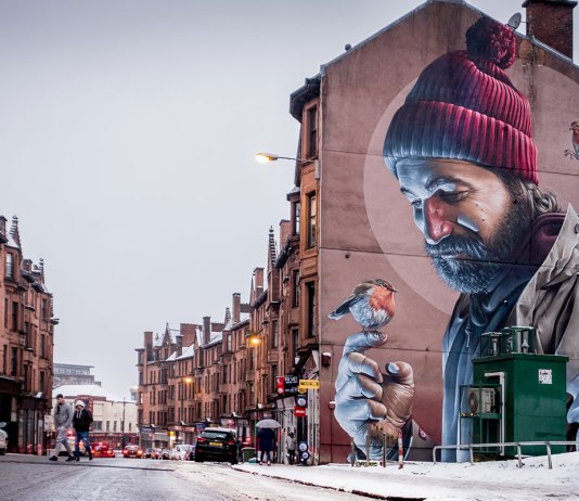 Glasgow Tipps Street Art Smug