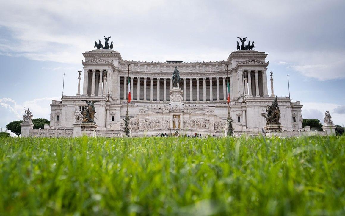 Il Vittoriano monument Rome