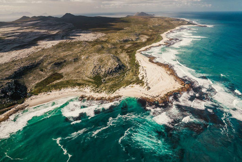 Helikoptervlucht in Kaapstad