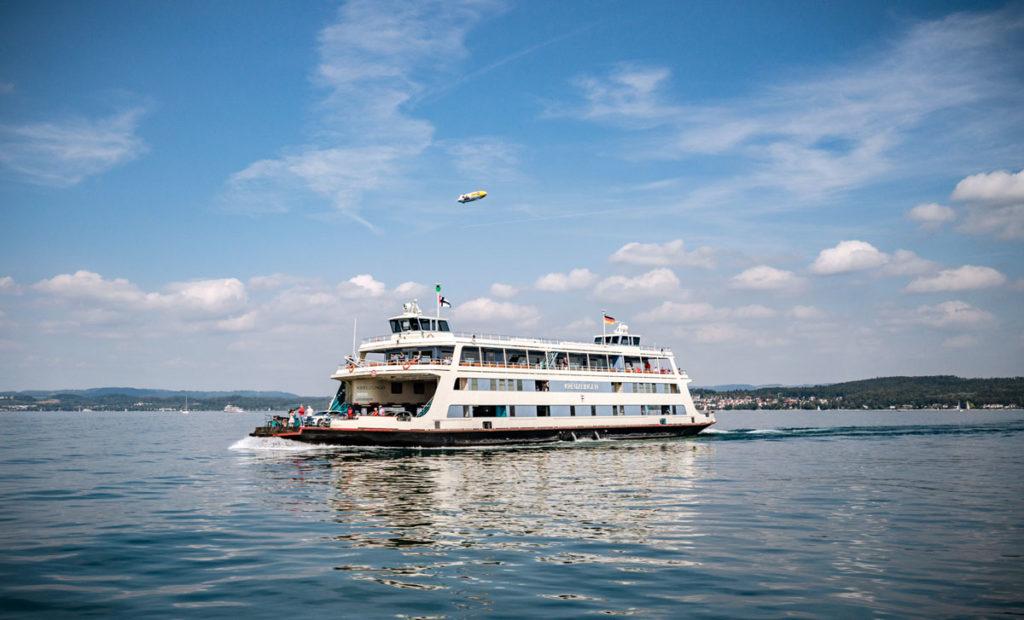 Veerboot van Meersburg naar Konstanz