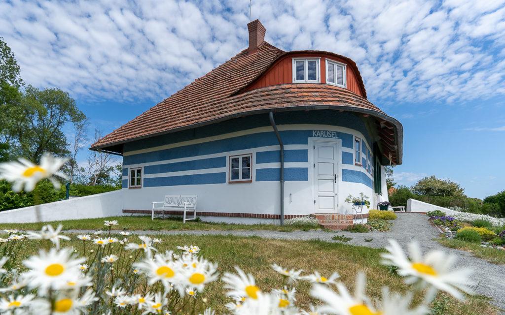 Astra-Nielsen-Haus op het eiland Hiddensee