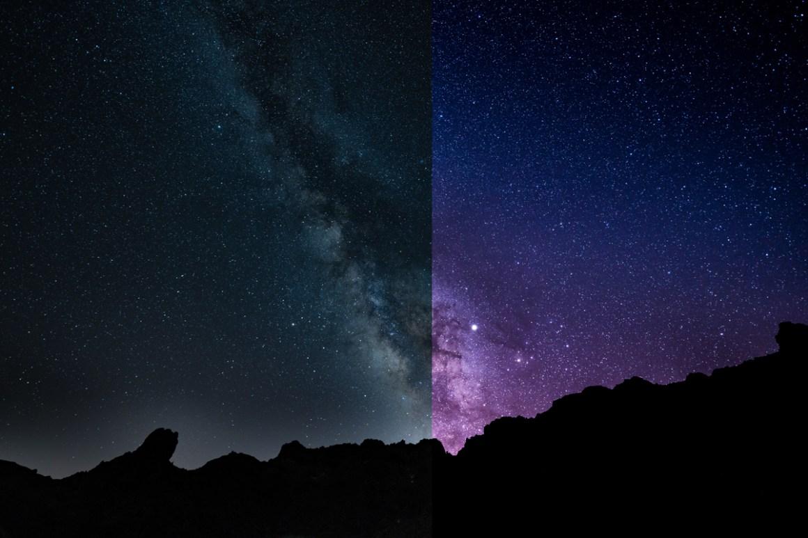 Melkwegfoto eerder daarna