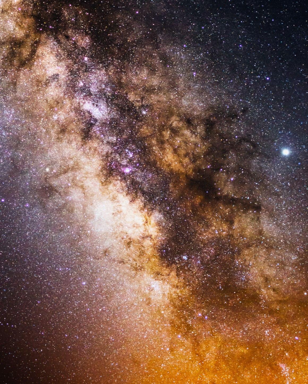 Melkwegfoto detail