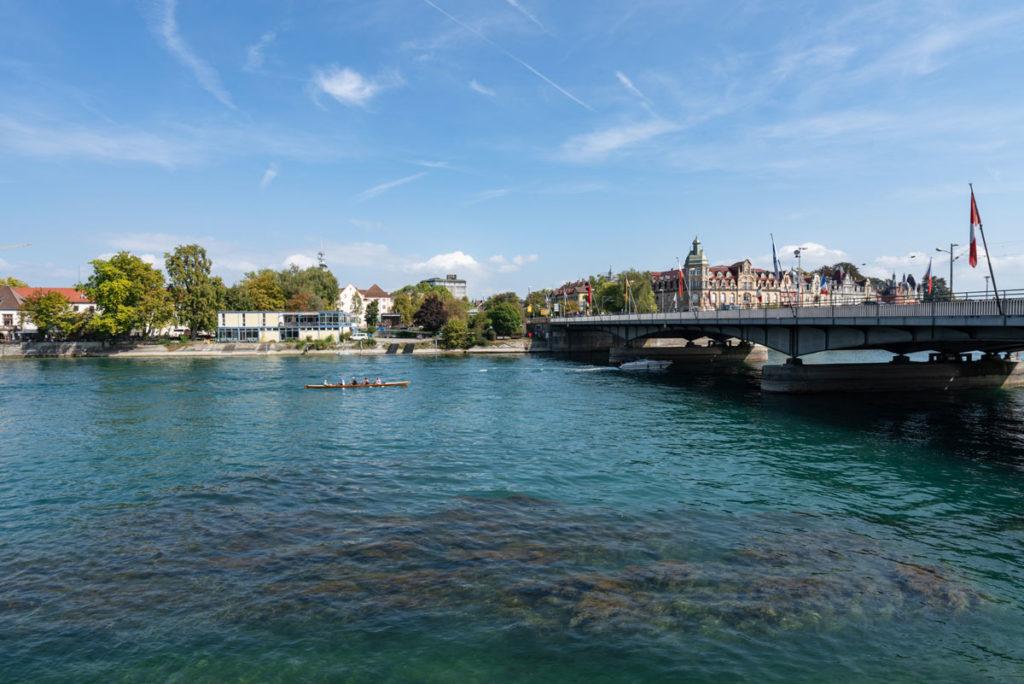 Oude Rijnbrug in Konstanz