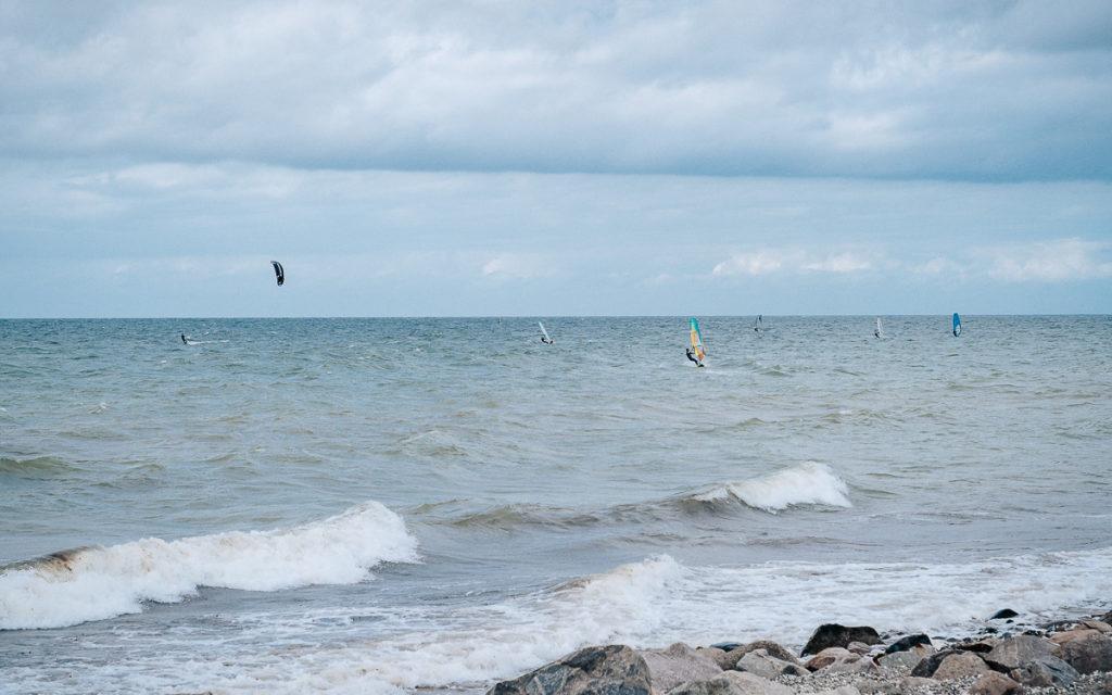 Fehmarn windsurfer